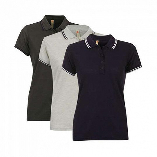 3 stylová dámská polo trička za cenu jednoho!