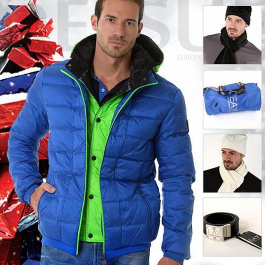 Sportovní elegance s EA7 Emporio Armani Men