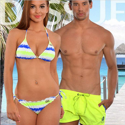 Značkové plavky a beachwear v dokonalých střizích od módních ikon...