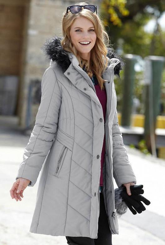 Zahřejte se stylovým kabátem