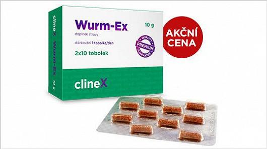Wurm-Ex: správná cesta k odčervení