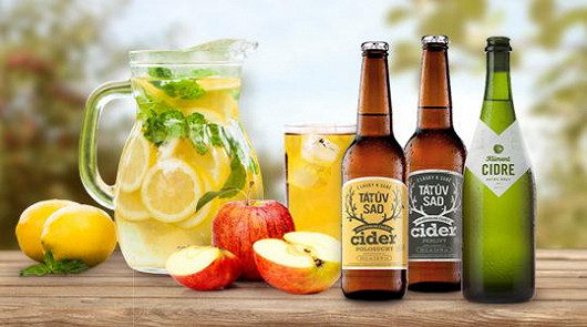 Cidery a další osvěžující nápoje