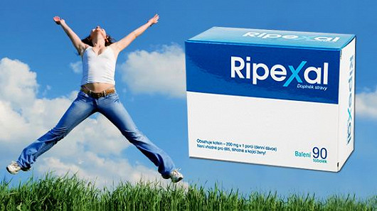 Ripexal je silný energizér a podpora hubnutí v jednom
