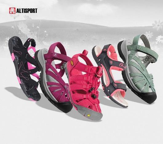 Boty na léto pro celou rodinu - pohodlné sportovní boty, sandály nebo žabky!