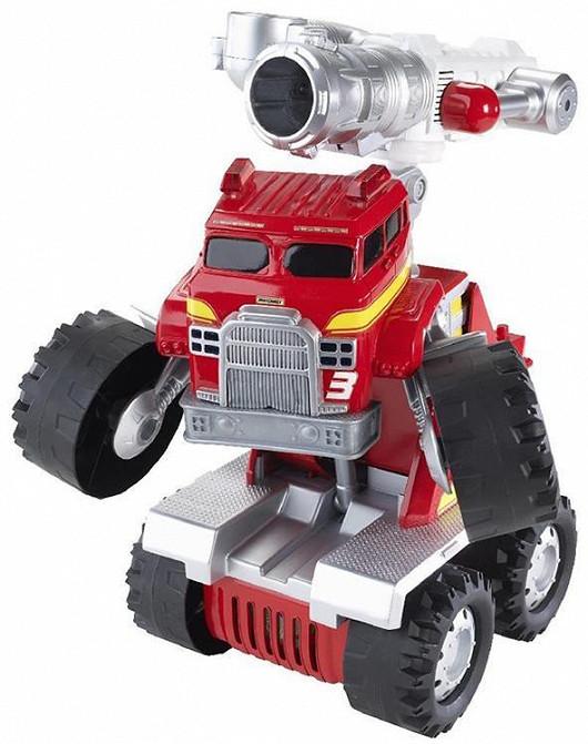 Hasicí vůz – robot Velký mluvící Smokey (Matchbox)