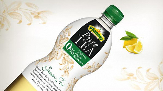 Pure Tea zelený čaj s citronem 1L