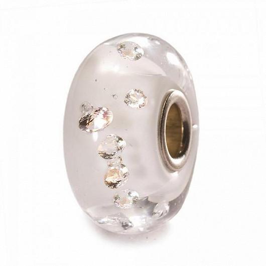 Luxusní přívěsek z muránského skla se zirkony
