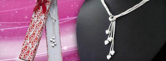 Italský náhrdelník Valentýn se slevou 55 %
