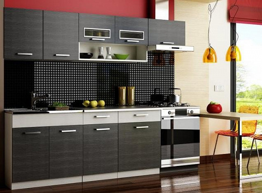 Kompletní kuchyňská linka v rozměru 240/180 cm za cenu 5 999 Kč! Platí pouze do 25. 5.!