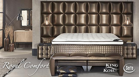 Royal Comfort aneb komfort a design postelí, který nezná hranice