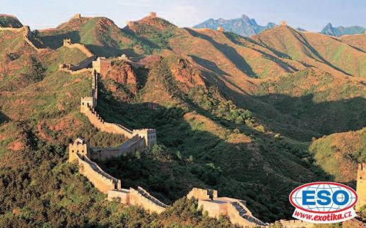 Projděte se po Velké čínské zdi, stavbě, která je vidět i z vesmíru!