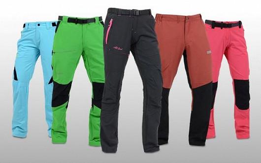 Pohodlné outdoorové kalhoty za skvělé ceny!