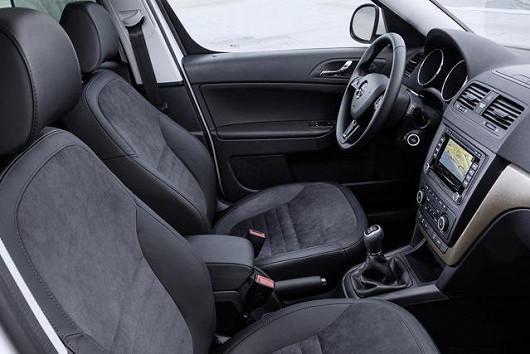 První model značky Škoda se zadní parkovací kamerou