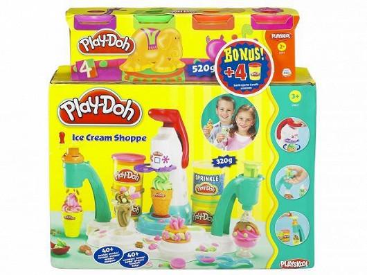 Továrna na zmrzlinu Play Doh a čtyři kelímky modelíny zdarma (Hasbro)
