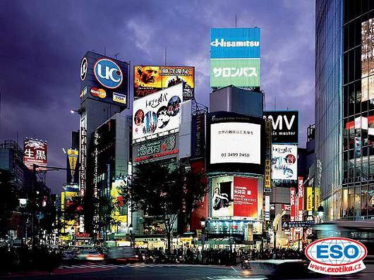 Navštivte nejmodernější město planety! Vydejte se do Japonska!