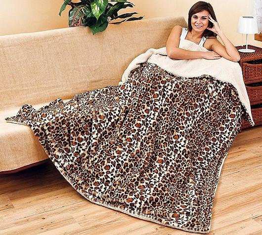 Hřejivá deka nejen pro chladné dny