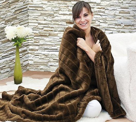 Hřejivá deka Kožíšek se slevou 43 %
