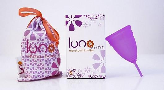 Menstruační kalíšek LUNO s bavlněným sáčkem jen za 299 Kč vč. poštovného!