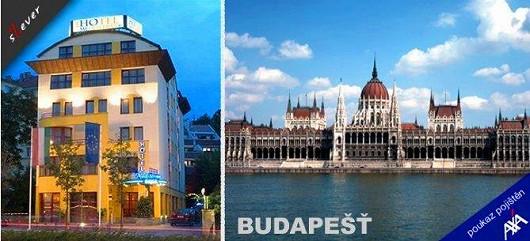 Čtyři dny pro celou rodinu v 4* hotelu v Budapešti