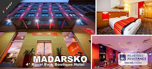 Čtyřhvězdičkový luxusní eurovíkend v Budapešti s 49% slevou!