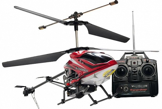 Pro kluky jedině RC model helikoptéry s kamerou!