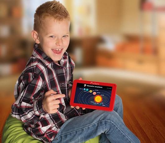 Dětský vzdělávací tablet Lexibook LexiTab - jediný tablet v češtině