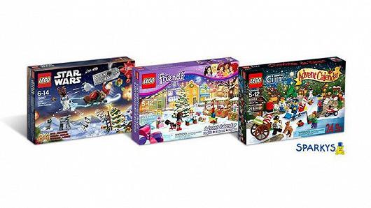 Zábavné LEGO adventní kalendáře