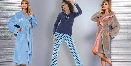 Župany a pyžama se slevou!
