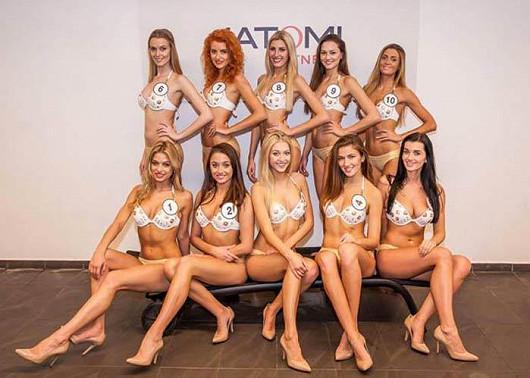 Soutěžní kategorie Astratex.cz: Česká Miss Bikiny 2016