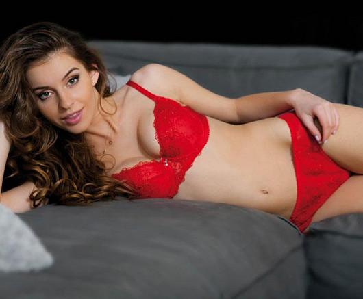 Vášnivě rudé prádlo