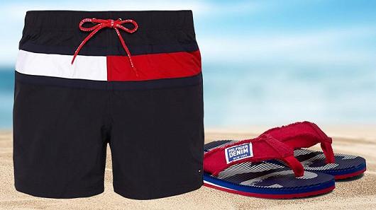 Pánské plavky Tommy Hilfiger, Pepe Jeans a Calvin Klein již od 888 Kč!