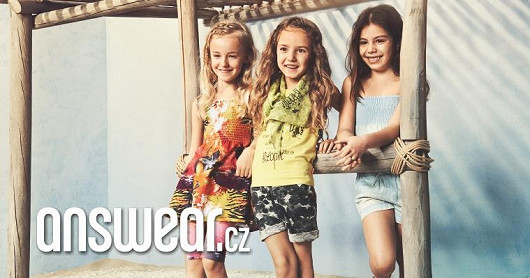 Na Answear.cz jsme zlevnili i dětské značkové oblečení…