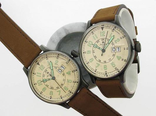 Retro hodinky letí. Pány inspiruje historie letectví