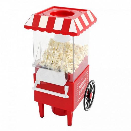 Retro strojek na popcorn. Vyrobte si oblíbenou pochoutku v pohodlí domova!