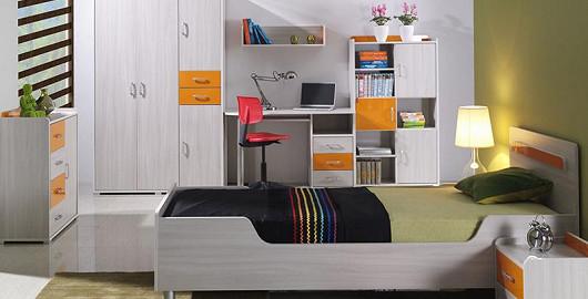 Školák nebo student, takový pokoj by chtěl každý!