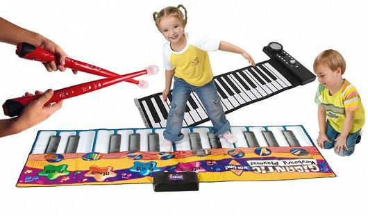 Hudební nástroje pro nejmenší