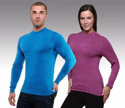Trička a spodky uplatníte při zimních sportech, při práci a pobytu ve volné přírodě.