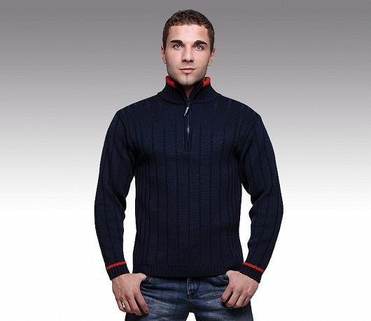 Vlněný svetr je vhodný pro běžné denní nošení.