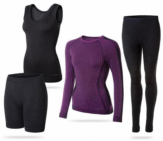 Tričko, mikina, svetr, ale i prádlo má společného jmenovatele - vlna