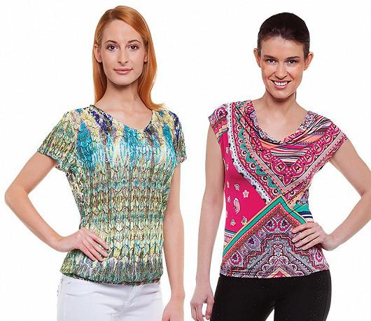 Elegantní modely v barevnosti letošního jara a léta