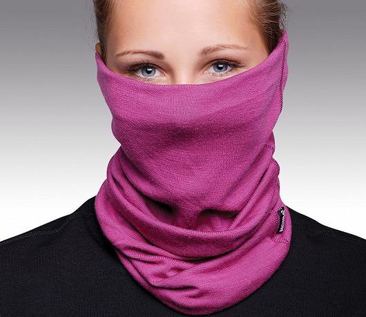 Vlněný tubus je univerzální část zimního oblečení, dá se nosit v šesti variantách.