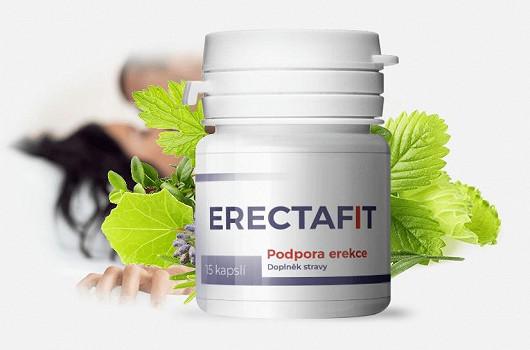 Erectafit - Pevná erekce do 50 minut. Stačí 1 kapsle chvíli před sexem.