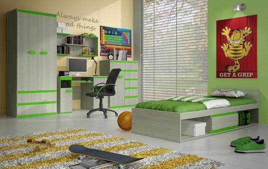 Moderní dětský pokoj s postelí nyní za 10 499 Kč!