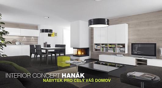 Interior Concept Hanák, nábytek pro celý interiér