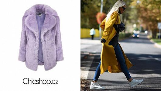 Prakticky i trendově s kabáty a chlupatými kožíšky