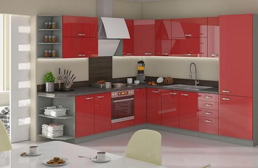 Luxusní kuchyně v lesku za dostupnou cenu, díky slevě 35 %! Doporučujeme!