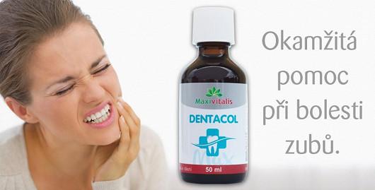 Třetí tip: Bolest zubů – postrach dovolené. Prášky proti bolesti nechte doma, na dovolenou stačí přibalit přírodní tinkturu Dentacol