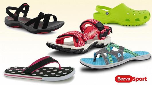 Dámské sandály a žabky pro vaše nožky