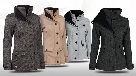 Kouzelné dámské softshell kabáty nyní výhodně!