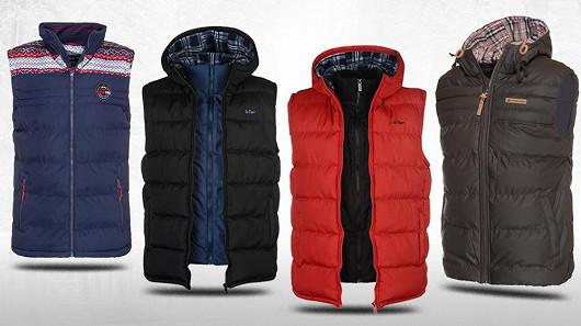 Pánské vesty do chladného počasí